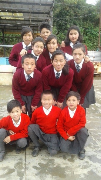 Our Children and Young People from the Tawang's house